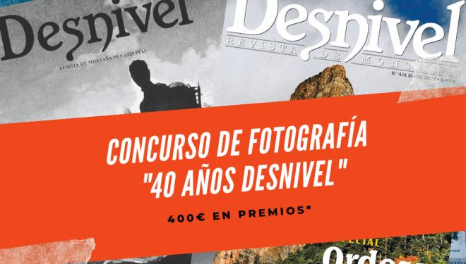 Concurso de fotografía 40 años Desnivel