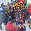 Nirmal Purja y el grupo de Elite Exped en el Everest 2021.
