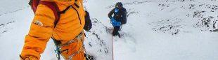 Kilian Jornet y David Göttler aclimatan para el Everest.