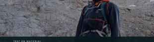 Javi Guzmán con la chaqueta L.I.M Breathe GTX Shakedry de HAGLÖFS