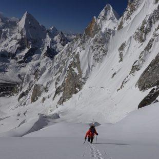 Expedición de Ralf Dujmovits y Nancy Hansen al Biarchedi I.