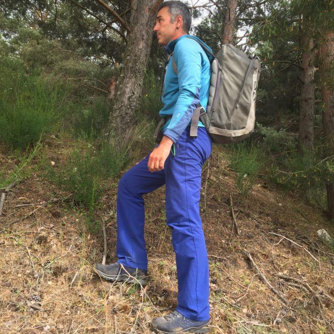Raúl Lora con las botas bota Lowa Explorer GTX Mid