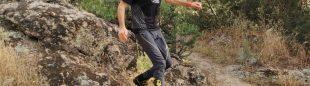 José Ramón Morán probando las zapatillas Ultra Raptor II Mid GTX de La Sportiva