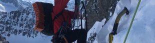Nick Aiello-Popeo en la Medusa Face del Mt. Neacola (Alaska).