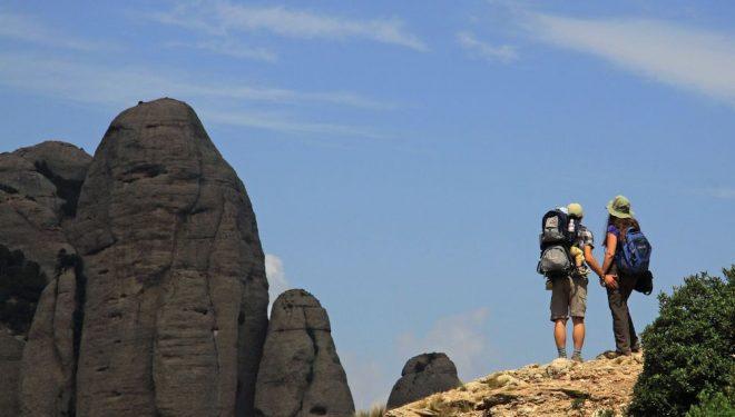 Excursionismo por Montserrat