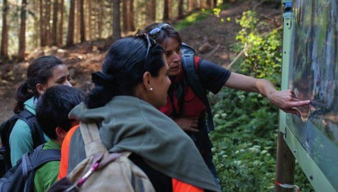 Excursión ambiental en el Bosque de Gerdar. ©Oriol Clavera