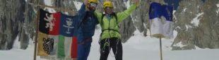 La mayor cordada del mundo: 200 personas en el Mont Blanc