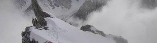 El C1 de Don Bowie y Lotta Hintsa en el Broad Peak.