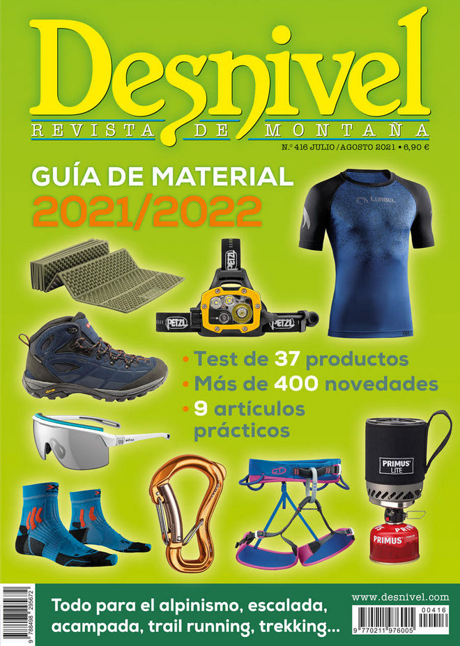 Desnivel nº 416 Especial Material de montaña. Guía de material 2021/22
