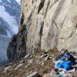 Aclimatación de Hélias Millerioux, Yannick Graziani y Patrick Wagnon en el valle de Hunza (Pakistán).