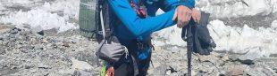 Rick Allen en el K2.