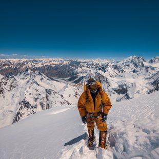 Sajid Ali Sadpara ha ascendido hasta 7.800 m en el K2.