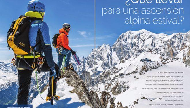 Desnivel nº 416 Especial Material de montaña. Alpinismo ligero