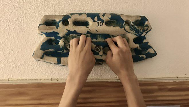 Tabla multipresa (hangboard) de resina