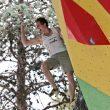 Adam Ondra, en el KO Boulder del Arco Rock Master 2021.