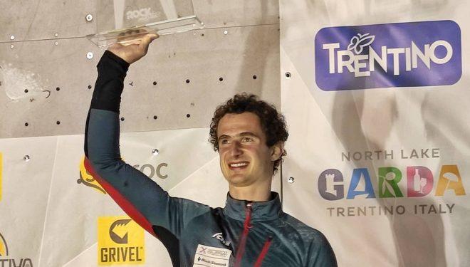 Adam Ondra, ganador del Arco Rock Master 2021.