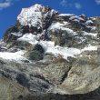Línea de 'Polacos banditos' al Nevado Churup (Cordillera Blanca).