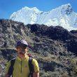 Adam Bielecki en la Cordillera Blanca.