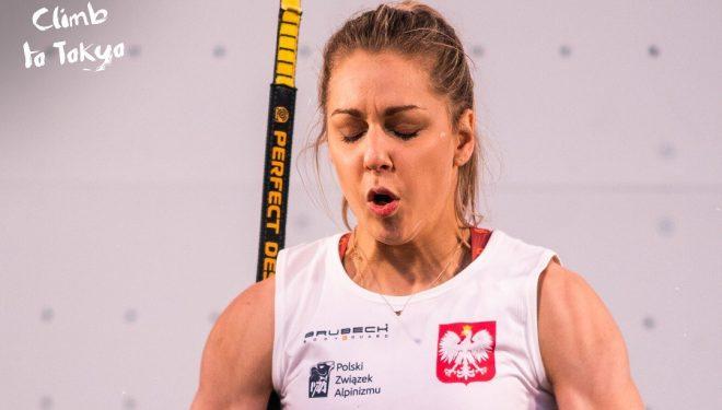 Aleksandra Miroslaw en Tokyo 2020.