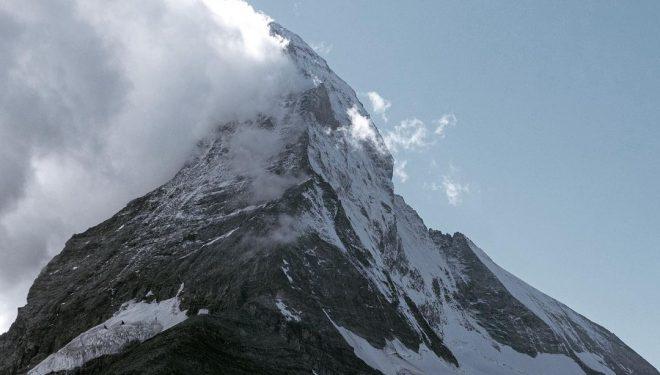 Simon Gietl y Roger Schaeli en el Matterhorn.