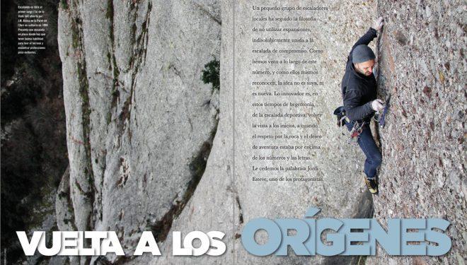 Especial Montserrat en la revista Desnivel nº 417