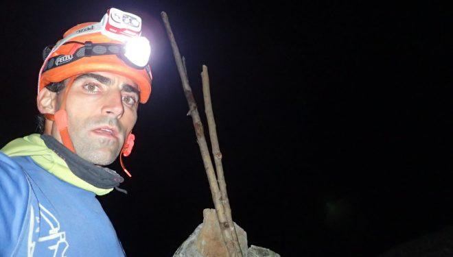 Jonatan García en la travesía 'La vuelta al mundo', los 51 tresmiles del macizo Maladeta-Aneto desde Benasque (Foto: Col. J. García).