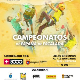 Campeonato de España de escalada 2021