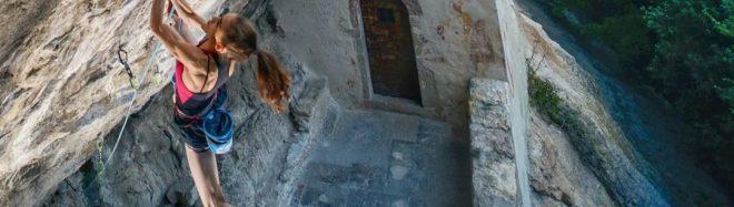 Laura Rogora en 'Erebor' 9b/+, Arco