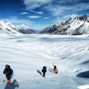 James Price durante su expedición al Karakorum.