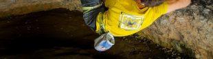 Domen Skofic en 'Ali Hulk extension total sit start' 9b de Rodellar.