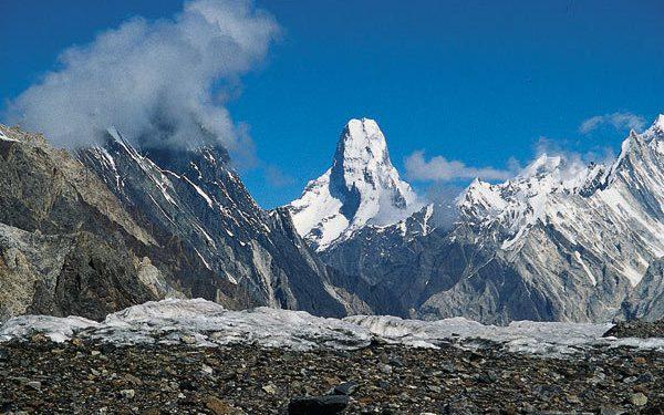 Cara norte del Everest. Foto: Sebastián Álvaro...