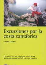Excursiones por la costa cantábrica.  por Joseba Lasuen. Ediciones Desnivel