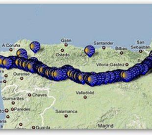 Camino de Santiago en Google  ()