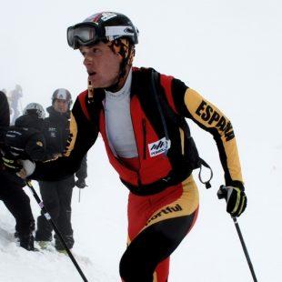 Marc Pinsach en la Copa del Mundo de esquí de montaña  (Cassadigital.cat)