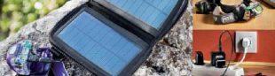 Tres modos de carga de la batería Core: placa solar portátil