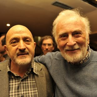 Sebastián Álvaro y Eduardo Martínez de Pisón  (Darío Rodríguez/ Desnivel.com)