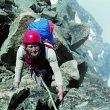 Miguel Gómez en la Pared del Diamante del Mt Kenya  (Col. Miguel Gómez)