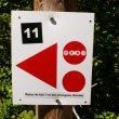 Las señales usadas en ambos centros BTT son las homologadas por IMBA.  (Centro BTT Zona Zero)