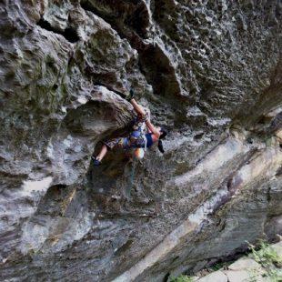 Ashima Shiraishi en Swingline (Red River Gorge