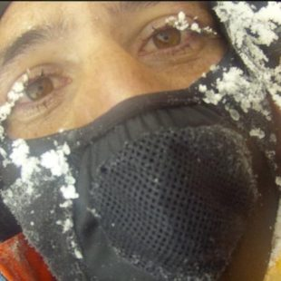Alex Txikon en el Gasherbrum 1 invernal 2012  (Alex Txikon)
