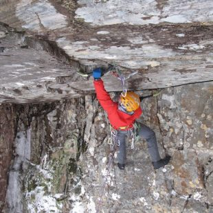 Dave MacLeod en Castle in the sky  (Andyturnerclimbing.co.uk)