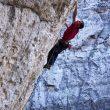 Jonathan Siegrist en Le reve 9a (Arrow Canyon)  (Jorge Visser)