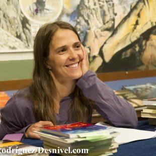 Taller de Escritura que Pati Blasco impartió en La Noche de los Libros 2012.  (Darío Rodríguez)