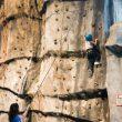 Campeonato de escalada infantil en el Palacio de los Niños de Oviedo  ()