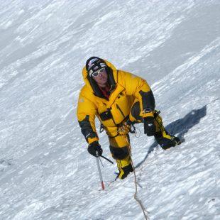 Simone Moro en el Nanga Parbat  (The North Face)
