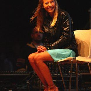 Sasha DiGiulian en la entrega de los Arco Rock Legends 2011  (Arco)