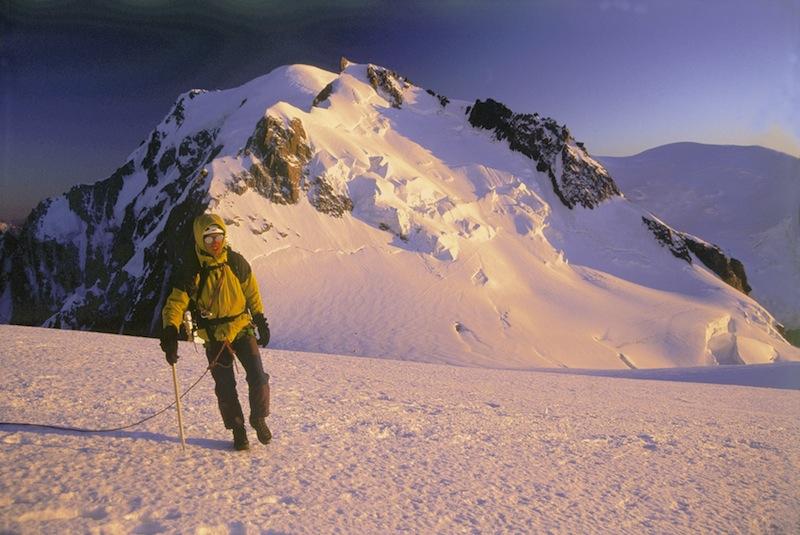 5dc5ae19614 Ascensión al Mont Blanc desde el Col de Maudit. En esta zona ha tenido lugar
