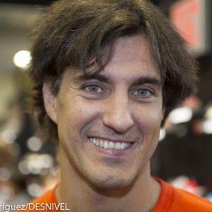 Carlos Suarez responsable Outdoor en nuestro país de Adidas. Feria Outdoor Friedrichshafen 2012  ()