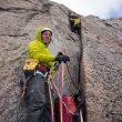 Ines Papert y Jon Walsh en Sensory overload al Mt. Asgard (Baffin)  (Joshua Lavigne)