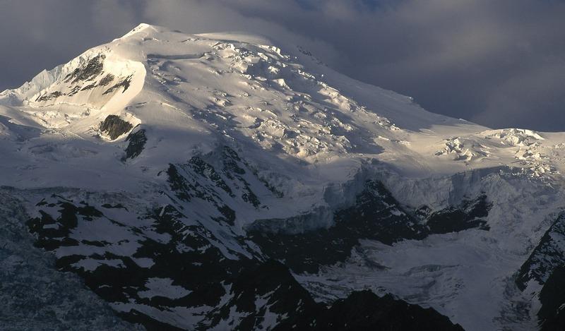 b8005391fe2 La arista de Goûter es la parte final de ruta normal del Mont Blanc y la